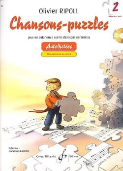 Chansons-Puzzles - Volume 2 Olivier RIPOLL Partition laflutedepan