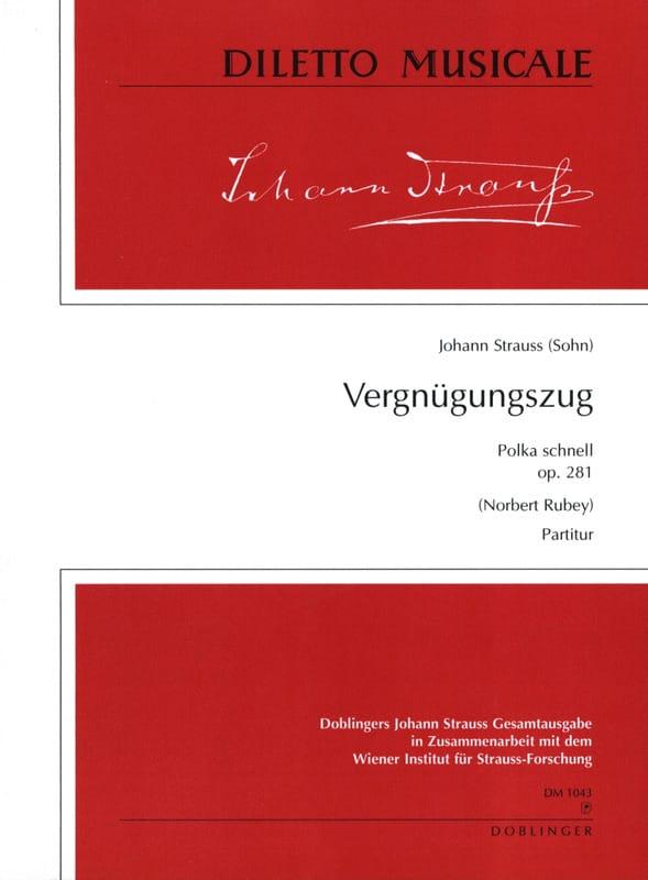 Vergnügungszug op. 281 -Partitur - laflutedepan.com