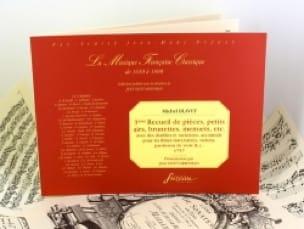 3ème Recueil de pièces, petits airs, brunettes, menuets, etc. - laflutedepan.com