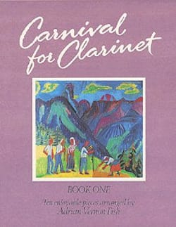 Carnival for Clarinet - Volume 1 Adrian Vernon Fish laflutedepan