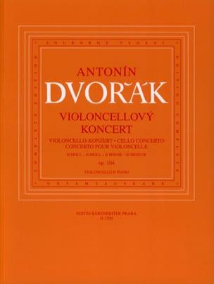 Concerto Pour Violoncelle Op. 104 DVORAK Partition laflutedepan