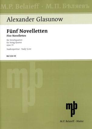 5 Novelletten Opus 15 -partitur - laflutedepan.com