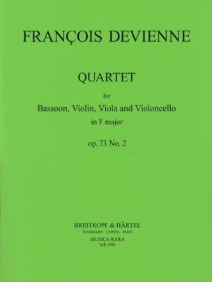 Quartet in F major op. 73 n° 2 -Bassoon strings DEVIENNE laflutedepan
