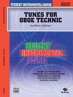 Student Instrumental Course : Tunes for Oboe Technic, Level II laflutedepan