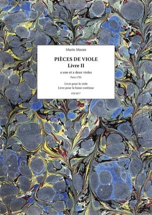 Pièces de Viole - Livre 2 Marin Marais Partition laflutedepan