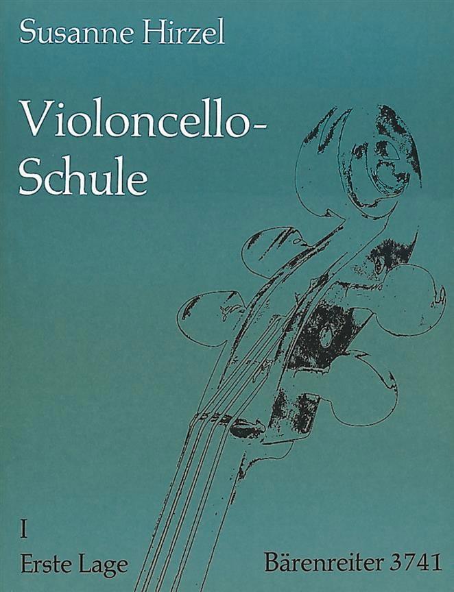 L' Ecole du violoncelle - Cahier 1 - Susanne Hirzel - laflutedepan.com