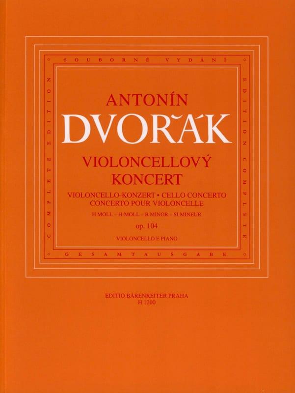 Concerto Pour Violoncelle Op. 104 - DVORAK - laflutedepan.com