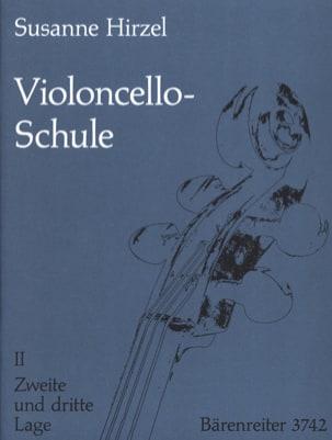 Violoncello-Schule - Heft. 2 Susanne Hirzel Partition laflutedepan