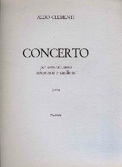 Concerto per contrabbasso -partitura Aldo Clementi laflutedepan