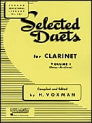 Selected Duets for clarinet - Volume 1 Partition laflutedepan