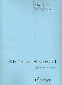 Kleines Konzert -Viola Klarinette Klavier Alfred Uhl laflutedepan