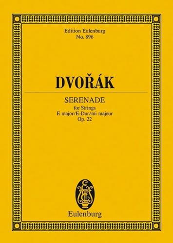 Serenade E-Dur, Op. 22 B 52 - DVORAK - Partition - laflutedepan.com
