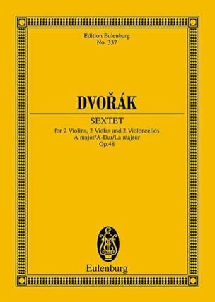 Sextuor à Cordes, op. 48 - Conducteur DVORAK Partition laflutedepan