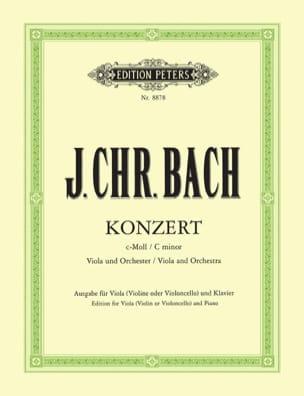 Concerto en ut mineur - Alto Johann Christian Bach laflutedepan