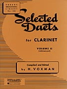 Selected Duets for clarinet - Volume 2 Partition laflutedepan