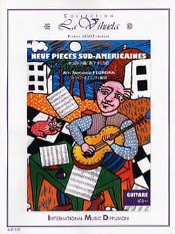 9 Pièces Sud-Américaines Partition Guitare - laflutedepan