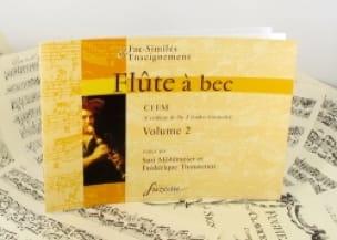 Flûte à bec, CFEM - Volume 2 - laflutedepan.com