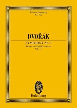 Sinfonie Nr. 4 d-moll - DVORAK - Partition - laflutedepan.com