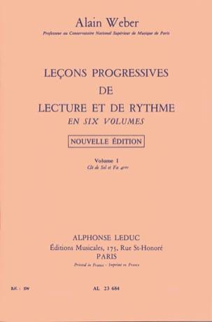 Leçons Progressives de Lecture et Rythme Volume 1 laflutedepan