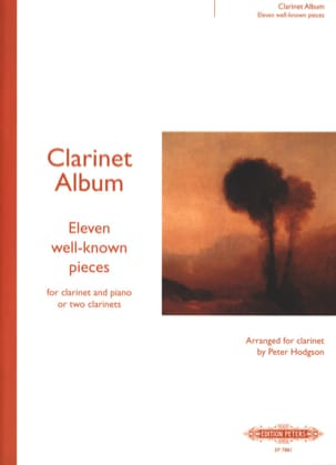 Clarinet Album - Peter Hodgson - Partition - laflutedepan.com