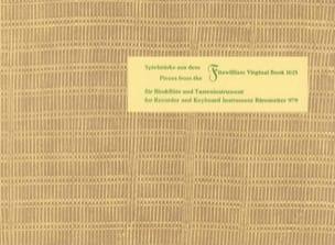 Spielstücke aus Fitzwilliam Virginal Book - Blockflöte laflutedepan