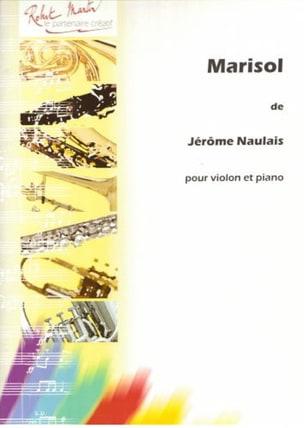 Marisol Jérôme Naulais Partition Violon - laflutedepan