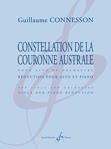 Constellation de la Couronne Australe CONNESSON Partition laflutedepan