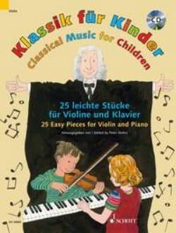 Klassik für Kinder - Violon et Piano Partition Violon - laflutedepan