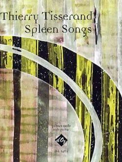 Thierry Tisserand - Canciones de Spleen - Partition - di-arezzo.es
