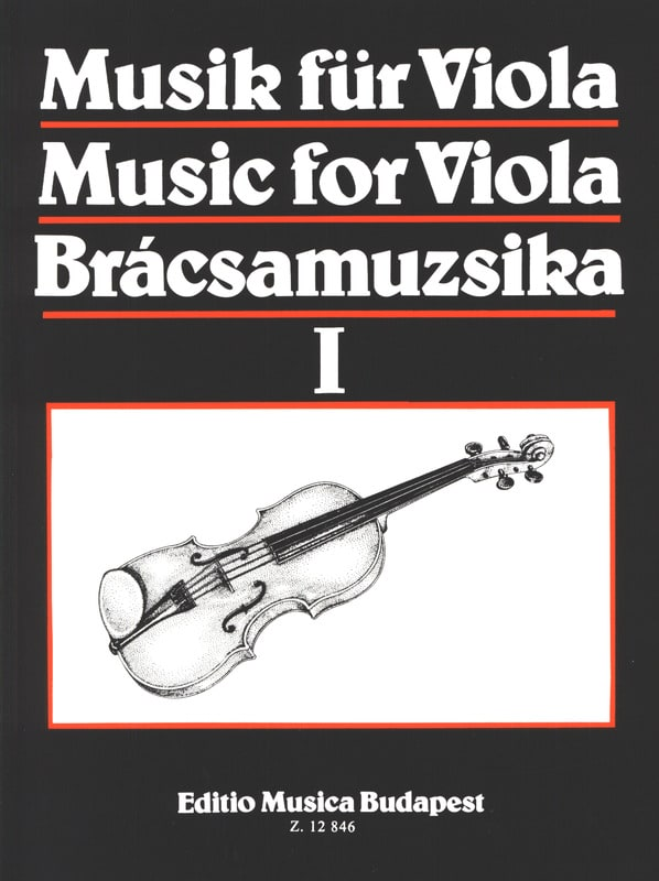 Music for Viola, Volume 1 - S. Gusztav Szeredi - laflutedepan.com