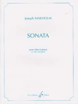 Sonata - Flute piano - Joseph Makholm - Partition - laflutedepan.com
