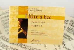 Flûte à Bec Vol. 2 - Fin de 2eme Cycle - laflutedepan.com