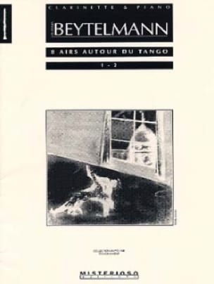 8 Airs Autour Du Tango - Volume 1 - laflutedepan.com