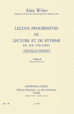 Leçons Progressives de Lecture et Rythme Volume 2 laflutedepan