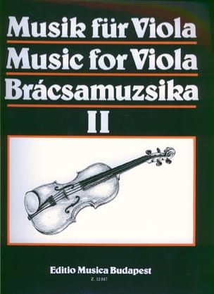 Music for Viola, Volume 2 S. Gusztav Szeredi Partition laflutedepan