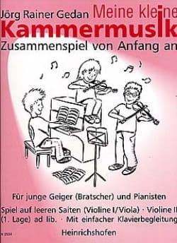 Meine kleine Kammermusik Jörg Rainer Gedan Partition laflutedepan