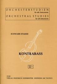 Orchesterstudien - Heft 5 - Kontrabass Schwabe-Starke laflutedepan