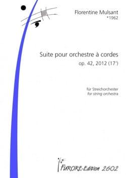 Suite pour orchestre à cordes Op. 42 conducteur laflutedepan