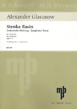 Stenka Rasin op. 13 - Partitur - laflutedepan.com
