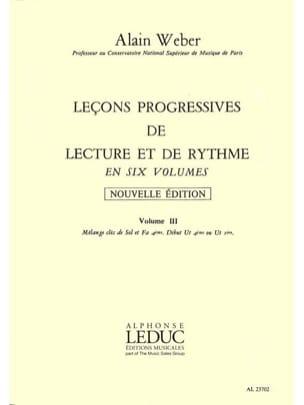 Leçons Progressives de Lecture et Rythme Volume 3 laflutedepan
