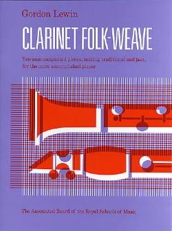 Clarinet folk-weave - Gordon Lewin - Partition - laflutedepan.com