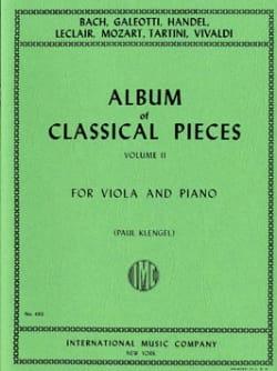 Album of classical pieces, Volume 2 Paul Klengel laflutedepan