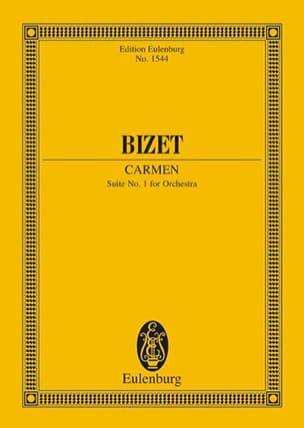Carmen - Suite N°1 BIZET Partition Petit format - laflutedepan