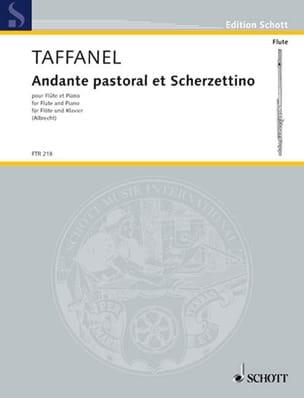 Andante Pastoral et Scherzettino Paul Taffanel Partition laflutedepan