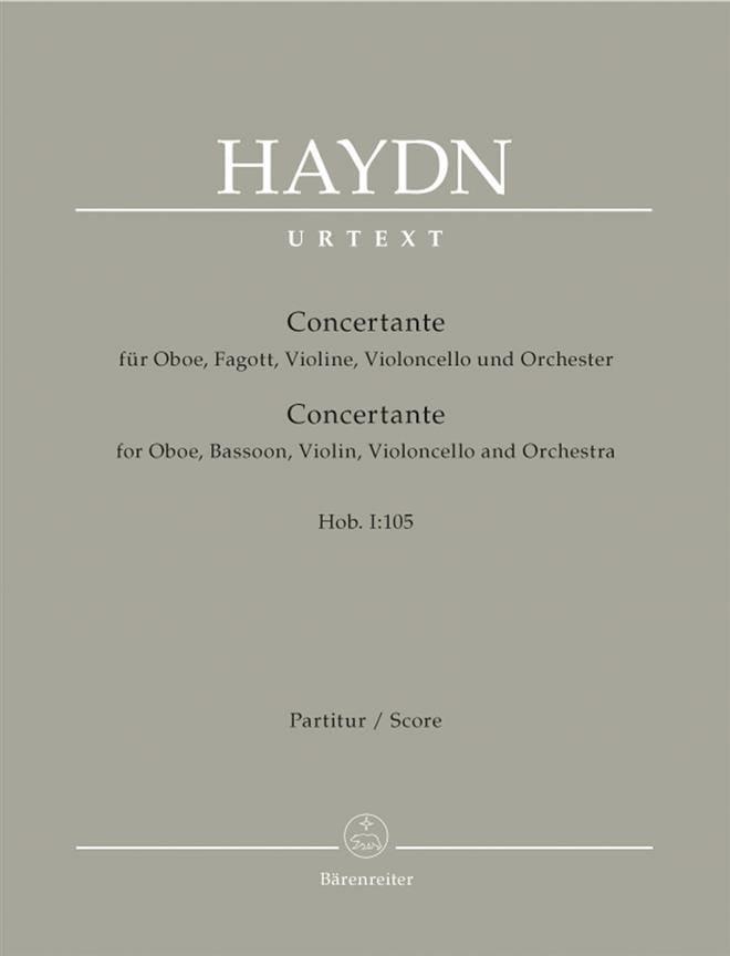 Symphonie Concertante Hob.1:105 - HAYDN - Partition - laflutedepan.com