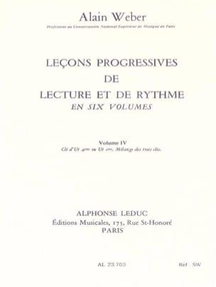Leçons Progressives de Lecture et Rythme Volume 4 laflutedepan