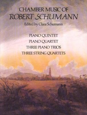 The Chamber Music SCHUMANN Partition Grand format - laflutedepan