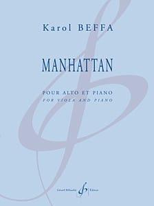 Manhattan Karol Beffa Partition Alto - laflutedepan