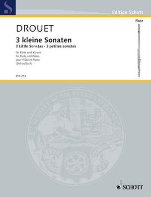 3 Petites Sonates Louis Drouet Partition laflutedepan