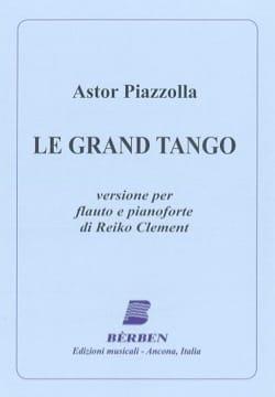 Le grand tango - Flûte et piano Astor Piazzolla Partition laflutedepan